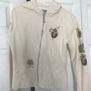 Authentic Tinkerbell zip up hoody